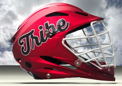 red tribe helmet